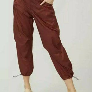 Free People Ripple Sport Pants Cropped Joggers XS